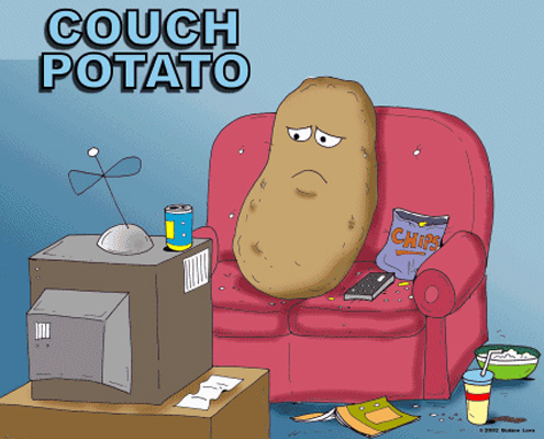 examples of an average couch potato Couch definition, a piece of furniture for seating from two to four people, typically in the form of a bench with a back, sometimes having an armrest at one or each end, and partly or wholly upholstered and often fitted with springs.